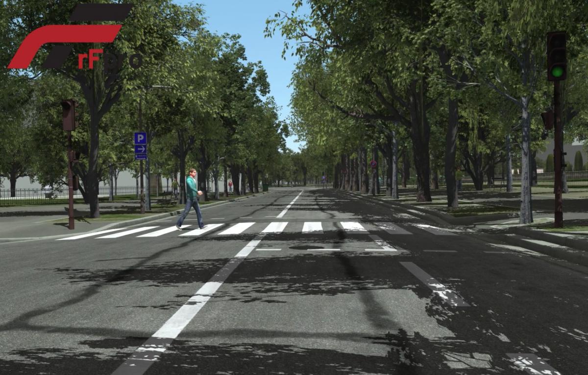 Traffic & Pedestrians | rFpro